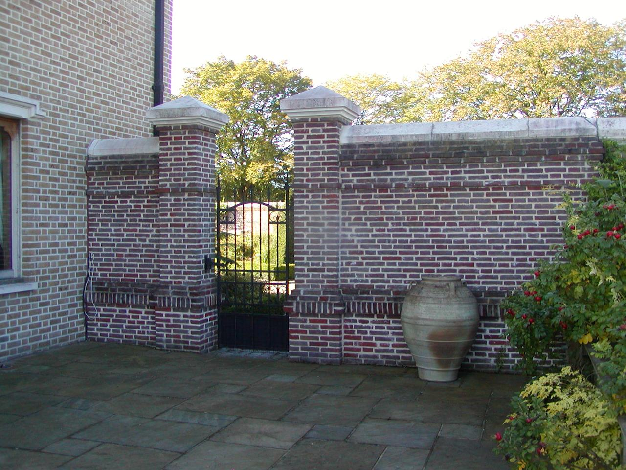 brick garden walls Quotes